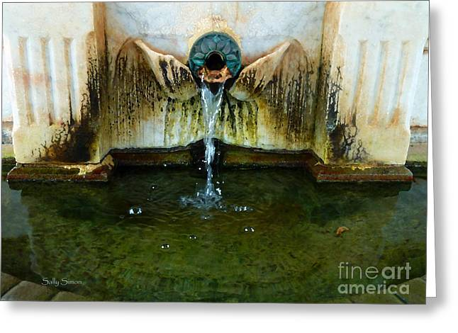 Fountain At Andersonville Greeting Card
