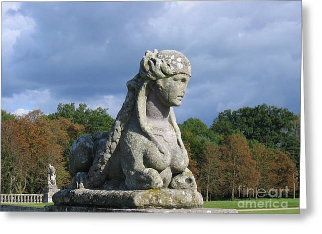 Fountainebleau Twin2 Greeting Card