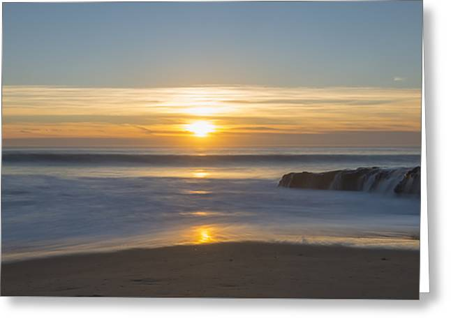 Four Mile Beach Sunset Greeting Card by Loree Johnson