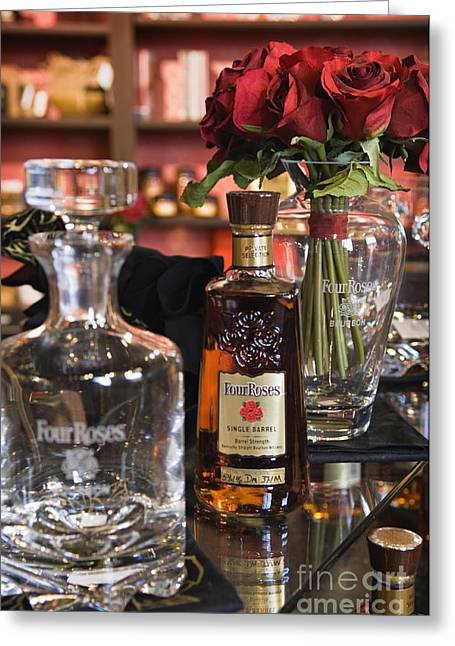 Four Roses Single Barrel - D008612 Greeting Card by Daniel Dempster