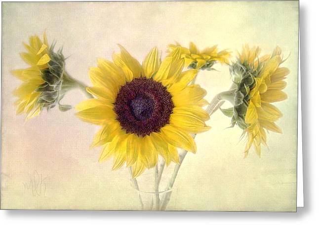 Hello Sunshine Greeting Card by Louise Kumpf
