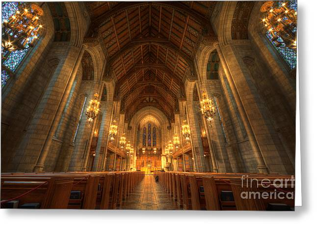 Fourth Presbyterian Church Chicago II Greeting Card