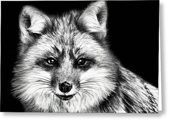 Foxtrot Greeting Card by Steven Richardson
