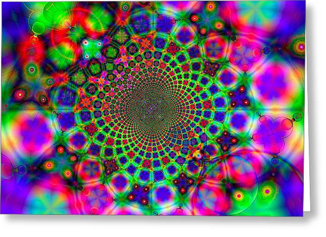 Fractal #11 Greeting Card