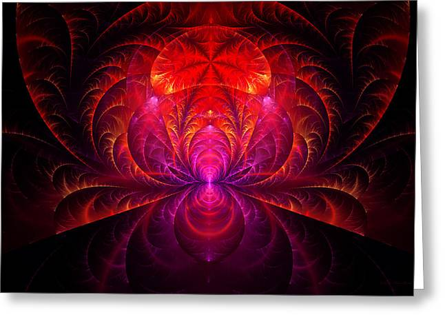 Fractal - Jewel Of The Nile Greeting Card by Mike Savad