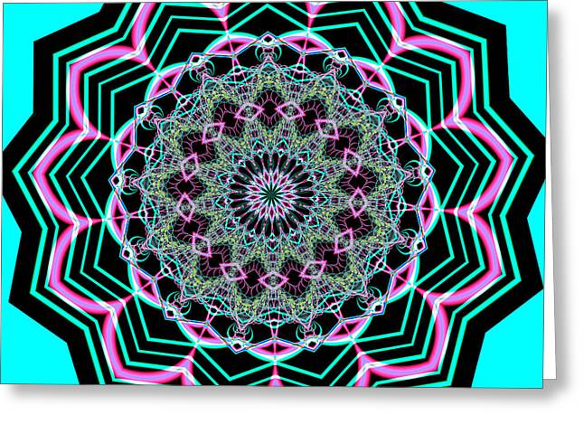 Fractalscope 20 Greeting Card