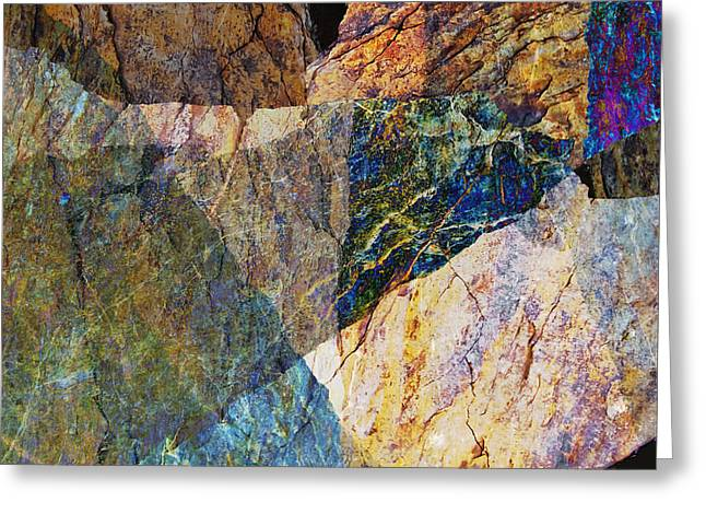 Fracture Xxvi Greeting Card by Paul Davenport