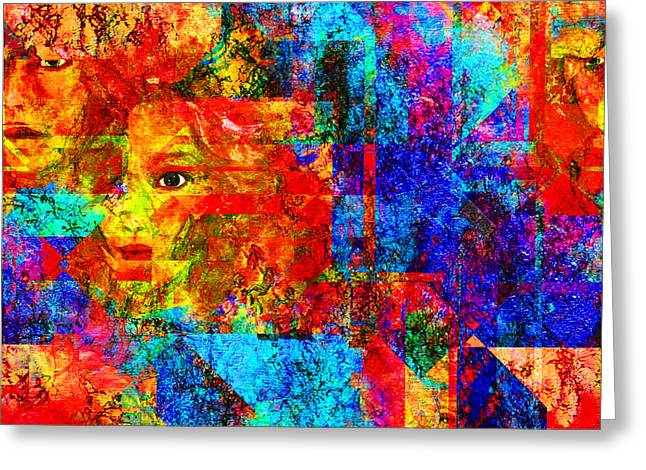 Fractured Greeting Card by Patricia Motley