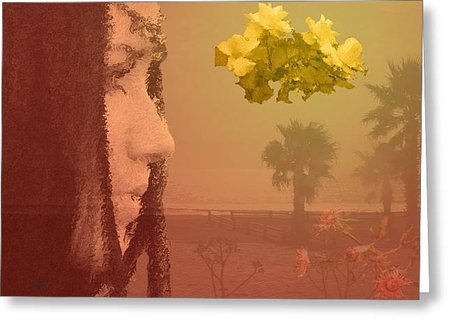Fragile Beauty Greeting Card by Andre Pillay