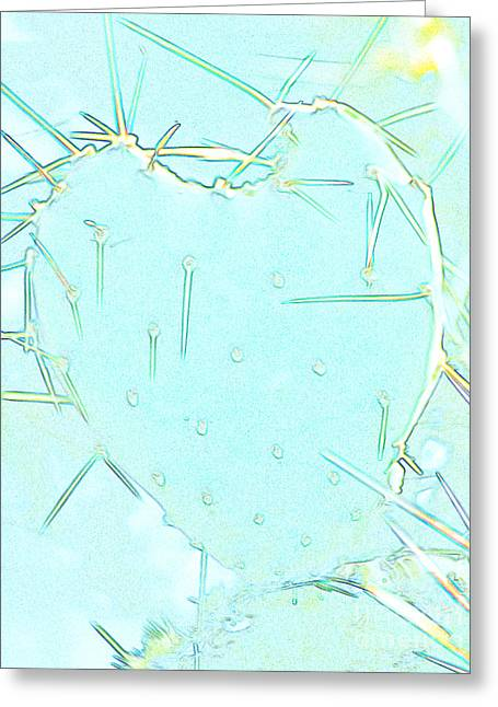 Greeting Card featuring the photograph Fragile Heart by Roselynne Broussard