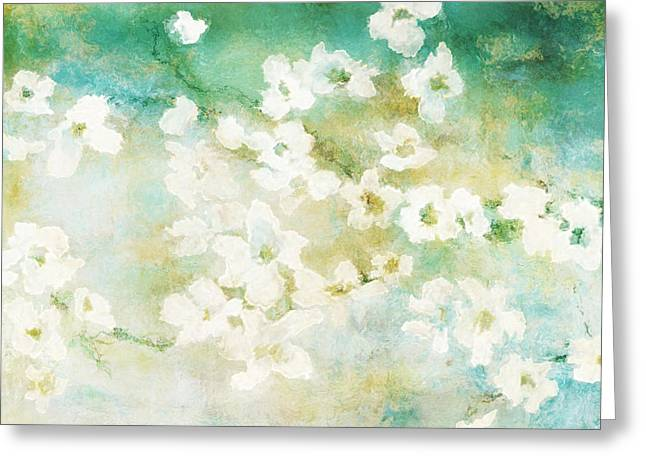 Fragrant Waters - Abstract Art Greeting Card