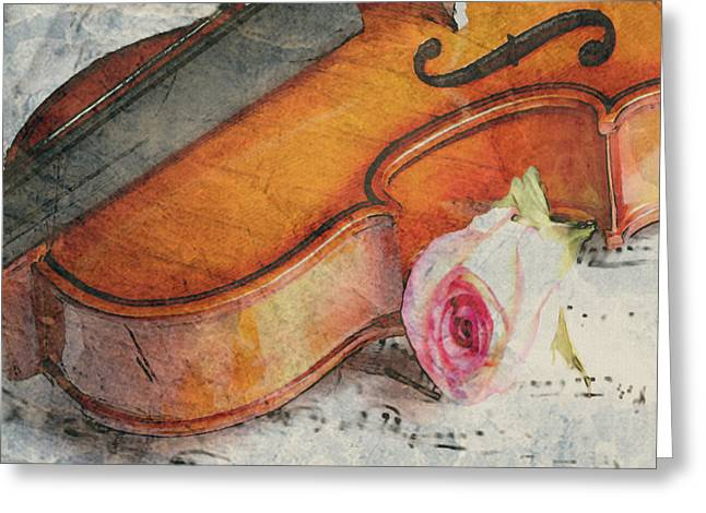 Fragrant Musik Greeting Card