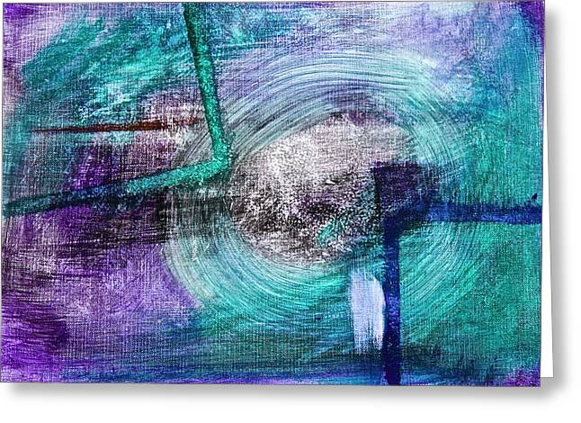 Frame Of Mind Greeting Card by Tracey Myers