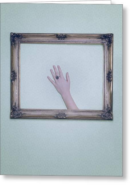 Framed Hand Greeting Card