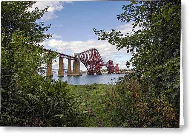 Framing The Forth Bridge Greeting Card