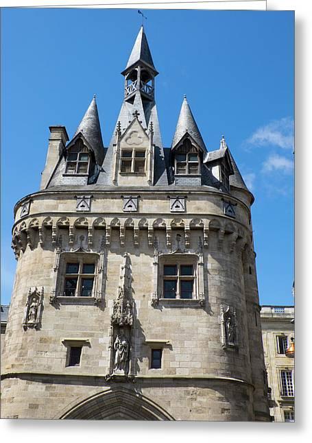 France, Aquitaine Region, Gironde Greeting Card
