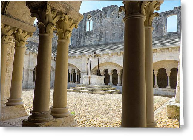 France, Arles, Abbey Of Saint Peter Greeting Card by Emily Wilson