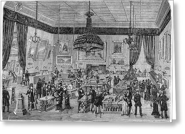 France Exhibition, 1881 Greeting Card