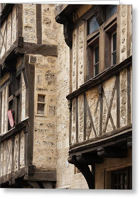 France, Normandy, Bayeux, Rue St-martin Greeting Card