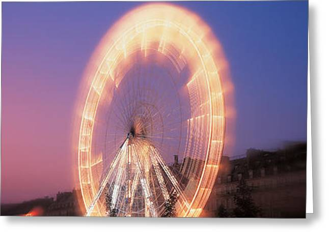 France, Paris, Tuilleries Greeting Card by Panoramic Images
