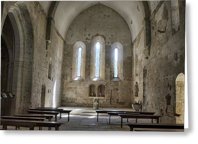France, Provence, Chapel Of The Small Greeting Card
