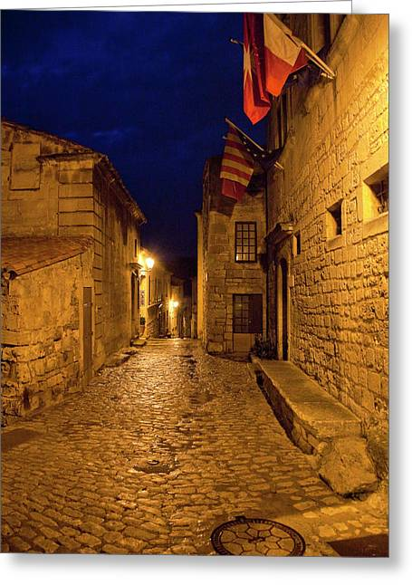 France, Provence, Les Baux-de-provence Greeting Card by Jaynes Gallery