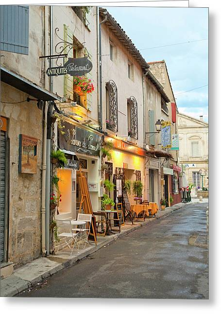 France, Provence, St Greeting Card