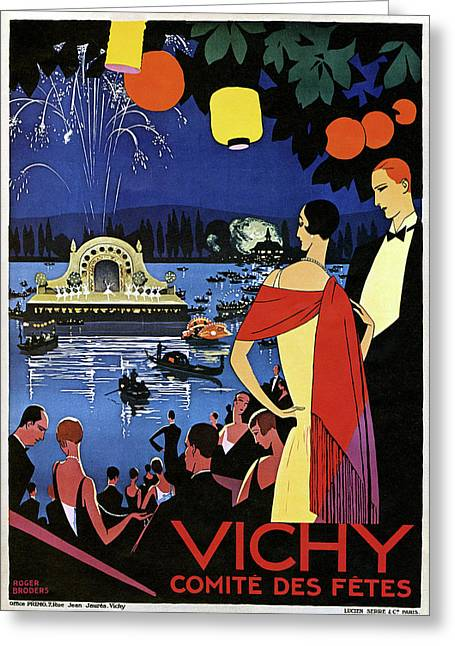 France Vichy, C1920 Greeting Card by Granger