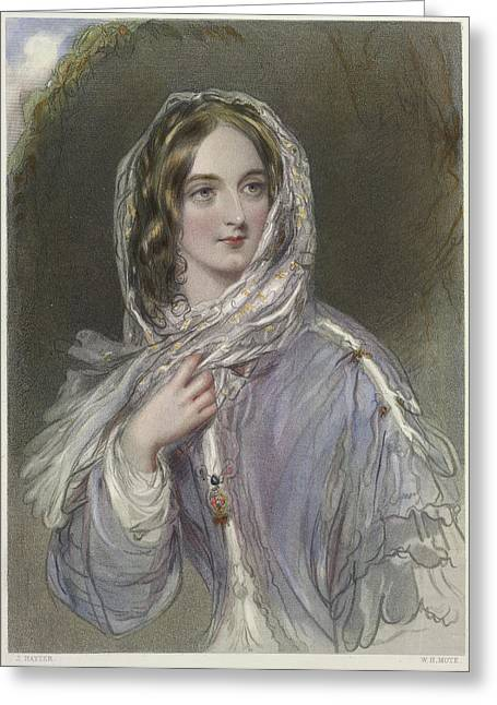 Frances Greeting Card by British Library