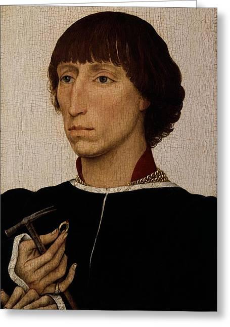 Francesco Deste Born About 1430, Died Greeting Card