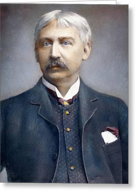 Francis Brett Harte (1836-1902) Greeting Card by Granger