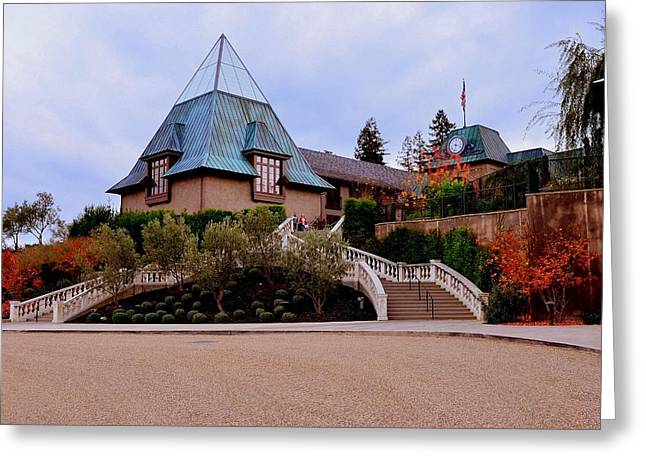 Francis Ford Coppola Wine Tasting Entrance Greeting Card