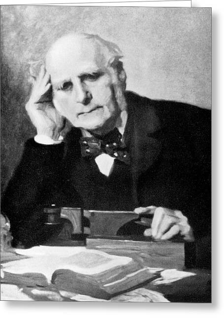 Francis Galton Greeting Card by American Philosophical Society