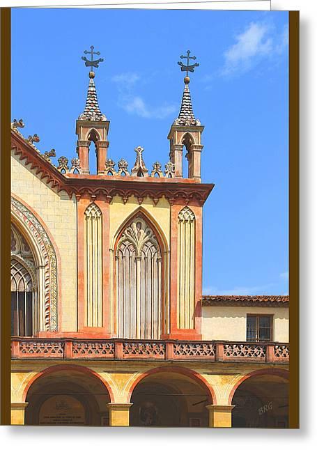 Franciscan Monastery In Nice France Greeting Card by Ben and Raisa Gertsberg