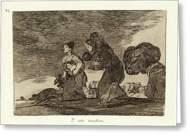 Francisco De Goya, Y Esto Tambien And This Too, Spanish Greeting Card