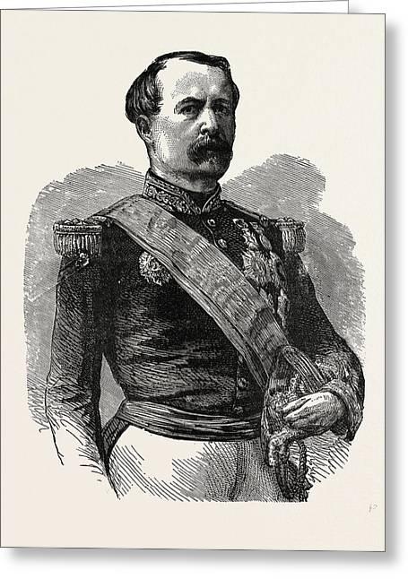 Franco-prussian War Marshal Mac-mahon Greeting Card