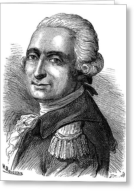 Francois D'arlandes Greeting Card by Science Photo Library