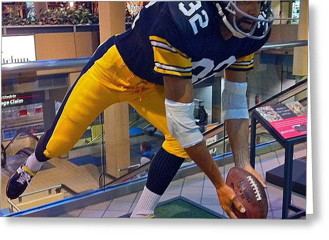 Franco's Immaculate Reception Greeting Card