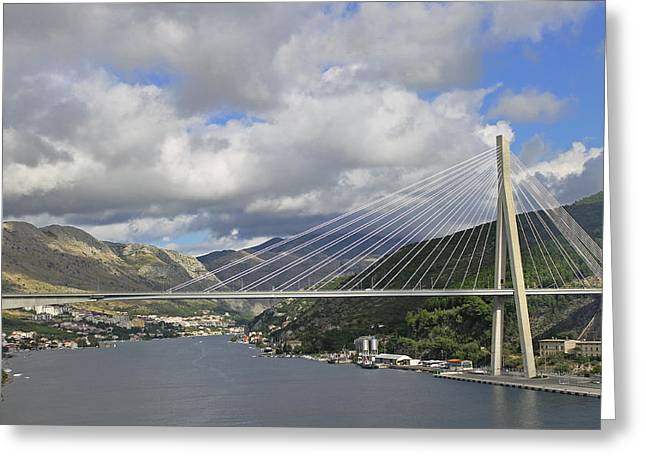 Franjo Tudman Bridge Greeting Card