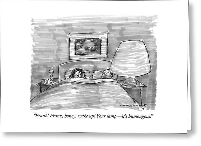 Frank! Frank Greeting Card