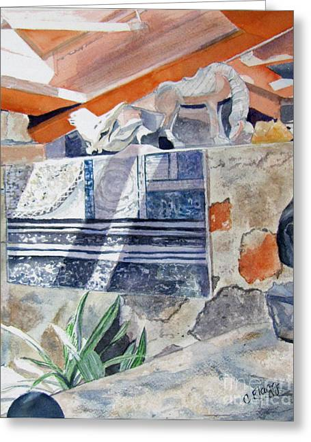 Frank Lloyd Wright Taliesin West 2 Greeting Card