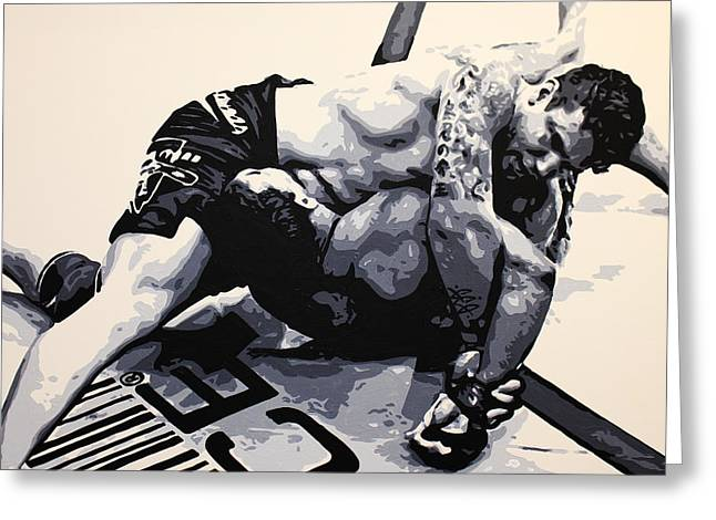 Frank Mir V Big Nog Greeting Card