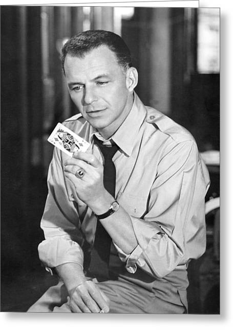 Frank Sinatra In Some Came Running  Greeting Card