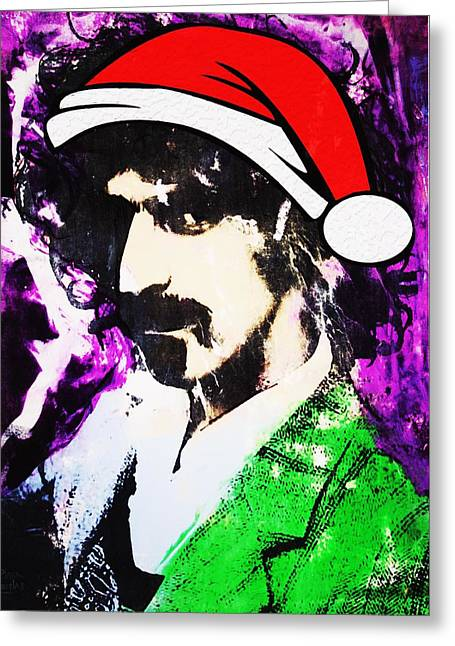 Frank Zappa Christmas Greeting Card