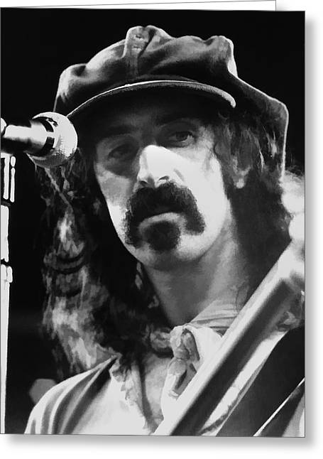 Frank Zappa - Watercolor Greeting Card