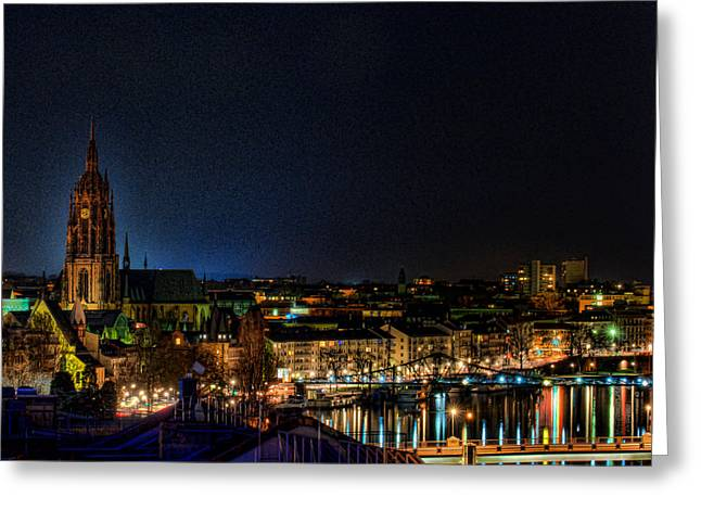 Greeting Card featuring the photograph Frankfurt I by Robert Culver