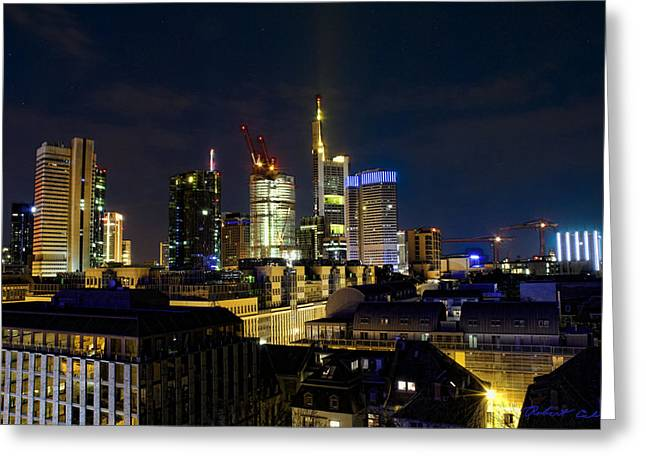 Greeting Card featuring the photograph Frankfurt II by Robert Culver