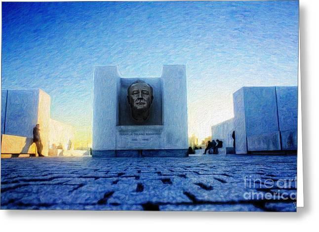 Franklin D. Roosevelt Four Freedoms Park Greeting Card