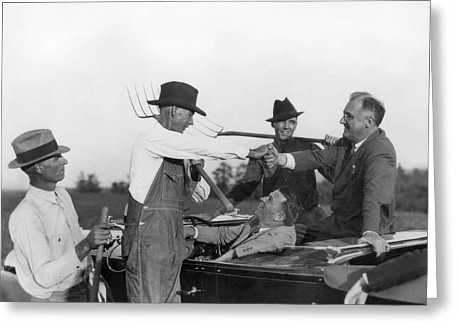 Franklin Delano Roosevelt(1882-1945) Greeting Card