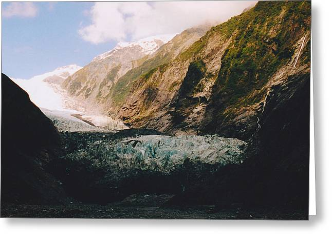 Franz-josef Glacier Greeting Card